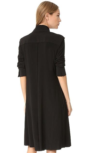 Norma Kamali Kamali Kulture Shirt Swing Dress