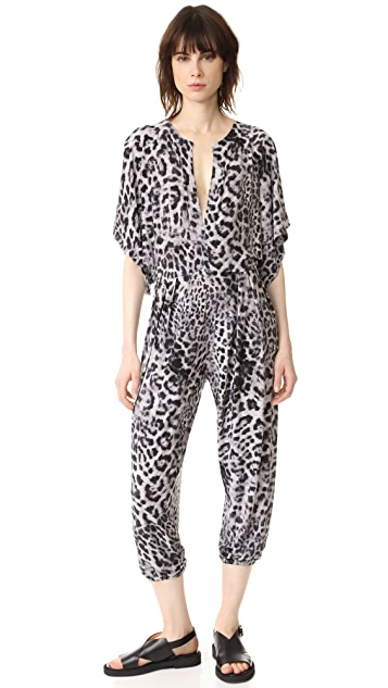 Norma Kamali Kamali Kulture Rectangle Jog Jumpsuit