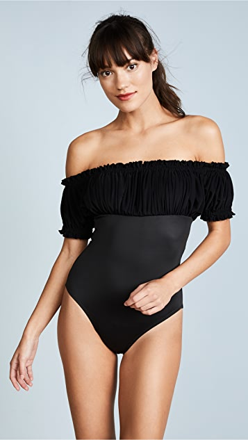 Norma Kamali Empire Jose Swimsuit