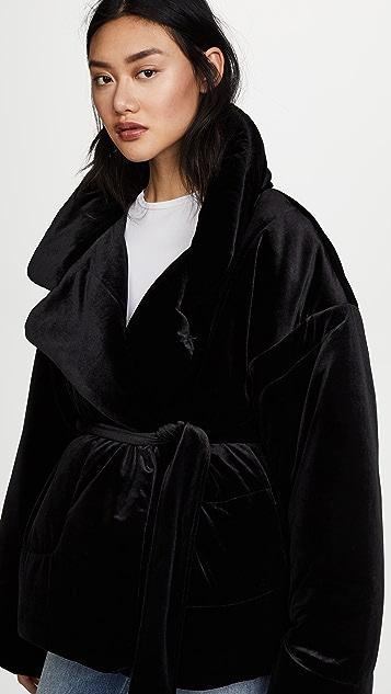 Norma Kamali Sleeping Bag Short Coat