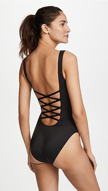 Norma Kamali Low Back Mio Swimsuit
