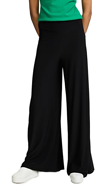 Norma Kamali Side Stripe Elephant Pants