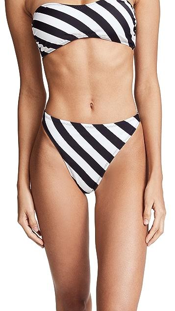 Norma Kamali Luca Bikini Bottoms