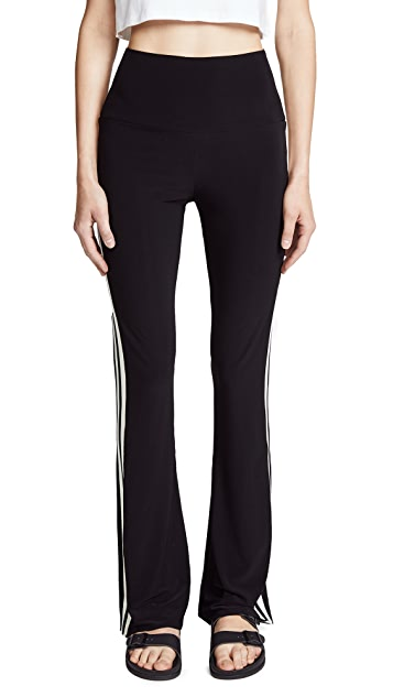 Norma Kamali Side Stripe Boot Pants