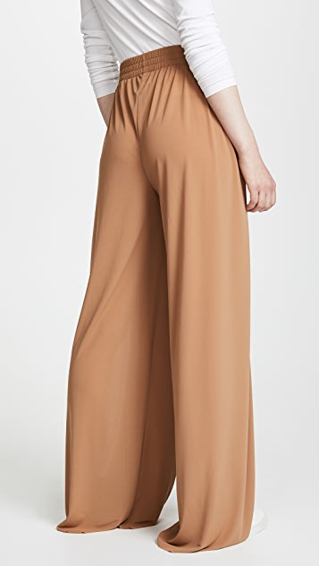 Norma Kamali Side Stripe Elephant Sweatpants