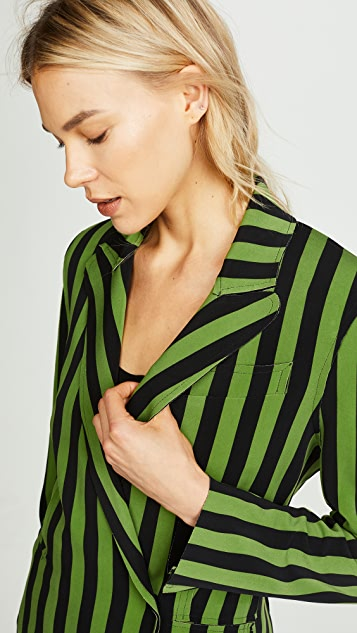 Norma Kamali Double Breasted Jacket