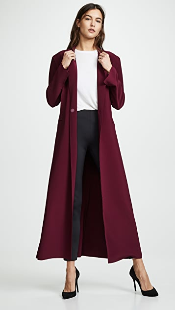 Norma Kamali Single Breasted Coat