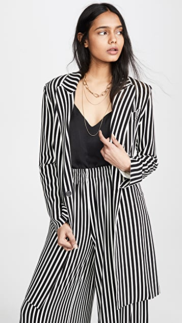 Norma Kamali Однобортный пиджак
