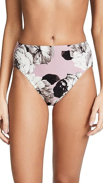 Norma Kamali High Waisted Bikini Bottoms