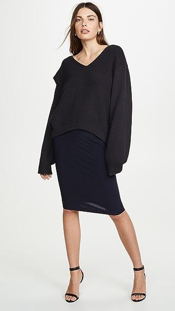 Norma Kamali 直筒裙