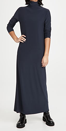 Norma Kamali - Long Sleeve Turtleneck Gown