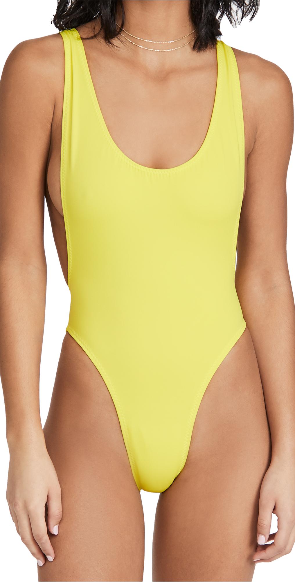 Norma Kamali Marissa One Piece Swimsuit