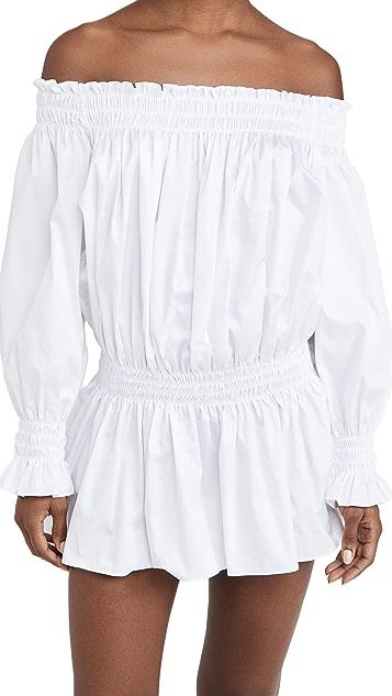 Norma Kamali Peasant Dress