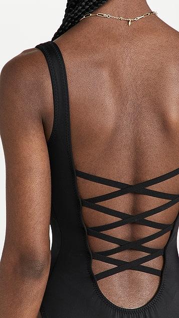 Norma Kamali Low Back X Mio Swimsuit