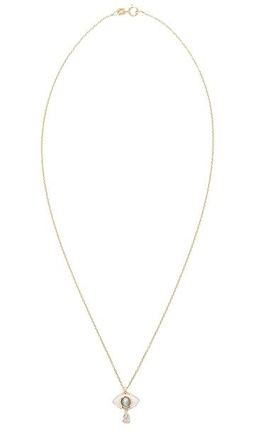 Nora Kogan 10k GoldIris Necklace