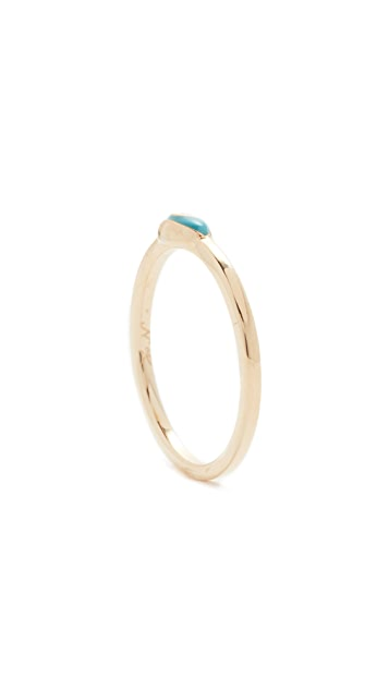 Nora Kogan 10k Gold Libby Black Diamond Ring