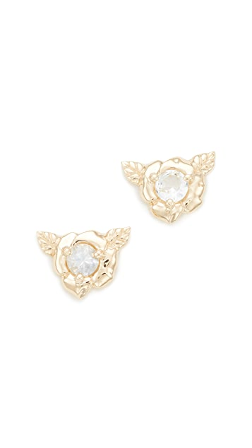 Nora Kogan Small Rose Studs