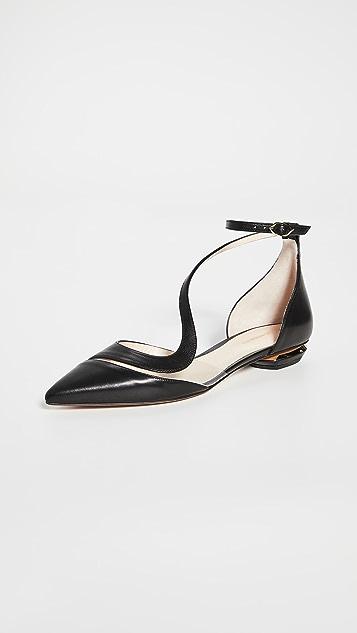 Nicholas Kirkwood S 芭蕾舞平底鞋
