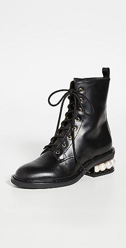 Nicholas Kirkwood - Casati 珍珠军靴