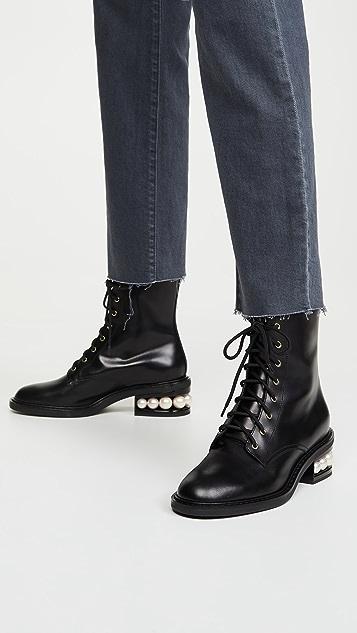 Nicholas Kirkwood Casati 珍珠军靴