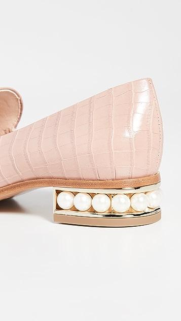 Nicholas Kirkwood 25mm Casati 软帮乐福鞋