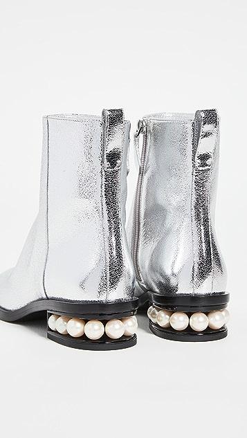 Nicholas Kirkwood 30mm Casati Ankle Boots
