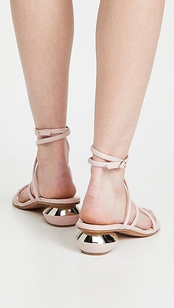 Nicholas Kirkwood 45mm Beya Maxi 凉鞋