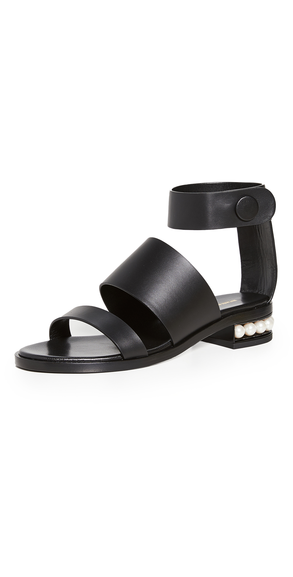 Nicholas Kirkwood Low heels 25MM TRIPLE STRAP SANDALS