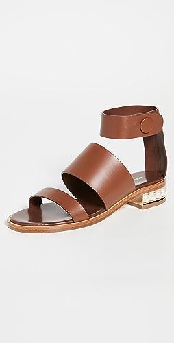 Nicholas Kirkwood - Casati Triple Strap 25mm Sandals