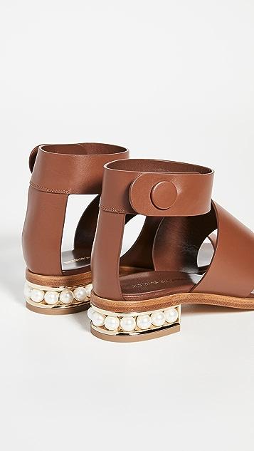 Nicholas Kirkwood Casati 三重束带 25mm 凉鞋