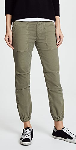 Nili Lotan - Cropped Military Pants