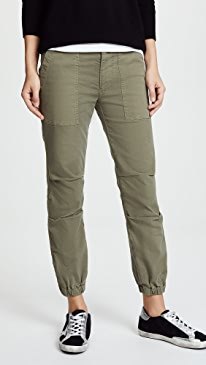 Cropped Military Pants