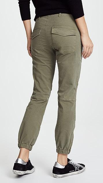 Nili Lotan Укороченные брюки в стиле милитари