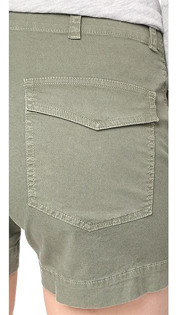 Nili Lotan Utility Shorts