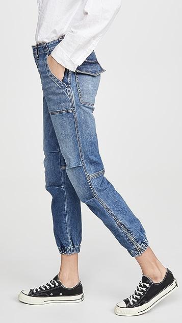 Nili Lotan 中长法式军旅风格牛仔裤