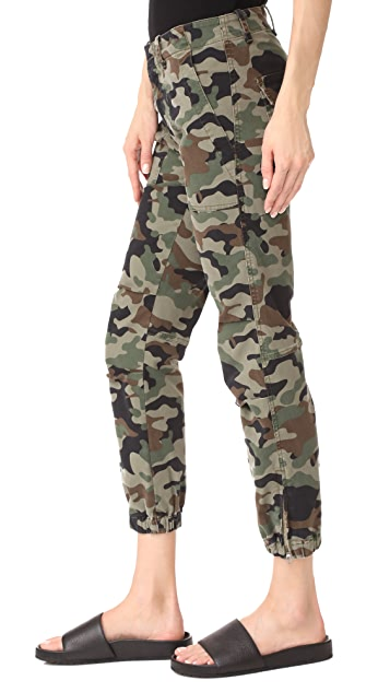 Nili Lotan Cropped French Military Pants