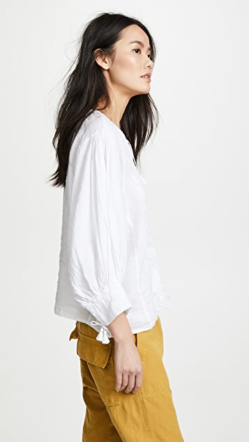 Nili Lotan Theia Blouse
