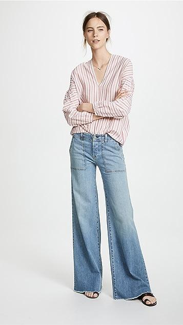 Nili Lotan Soft Cargo Jeans