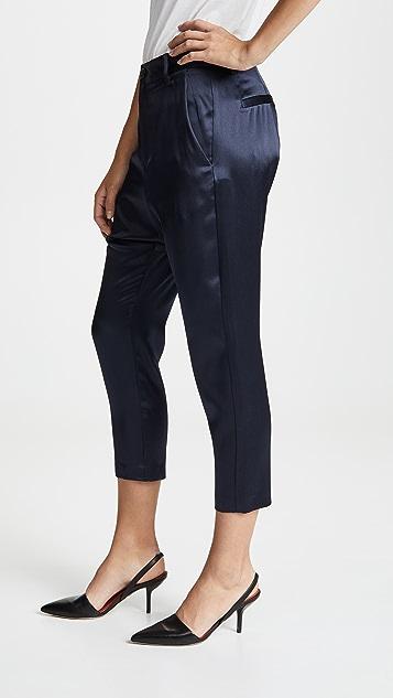 Nili Lotan Silk Paris Pants