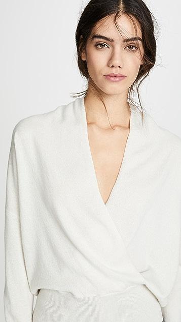 a779094e22 ... Nili Lotan Cashmere Wrap Sweater ...
