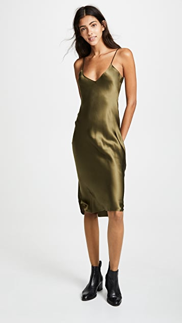 Nili Lotan 短吊带连衣裙