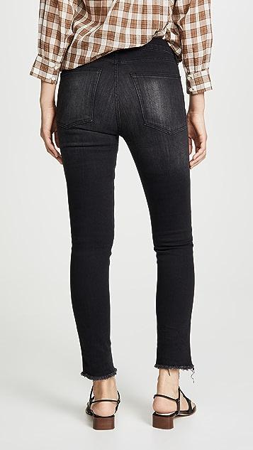 Nili Lotan High Waisted Skinny Jeans