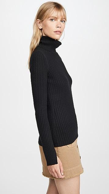 Nili Lotan Кашемировый свитер Myla с воротником под горло