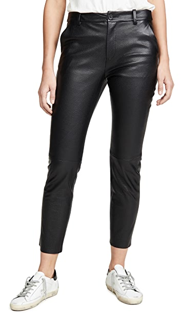 Nili Lotan Montauk Leather Pants