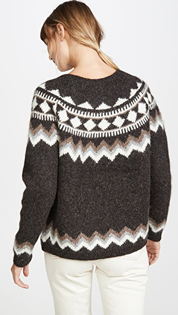 Nili Lotan Adene Alpaca Sweater