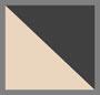 沙色/黑色斑马印花
