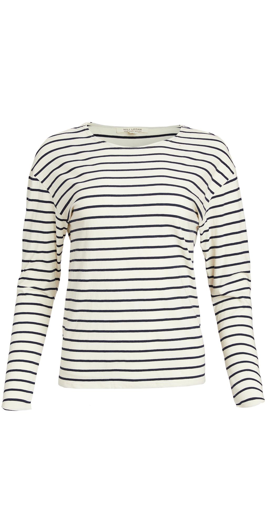 Nili Lotan Arlette Long Sleeve Shirt