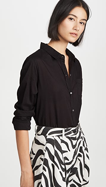 Nili Lotan Cotton Voile Shirt