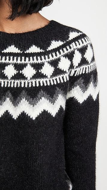 Nili Lotan Alpaca Adene Sweater