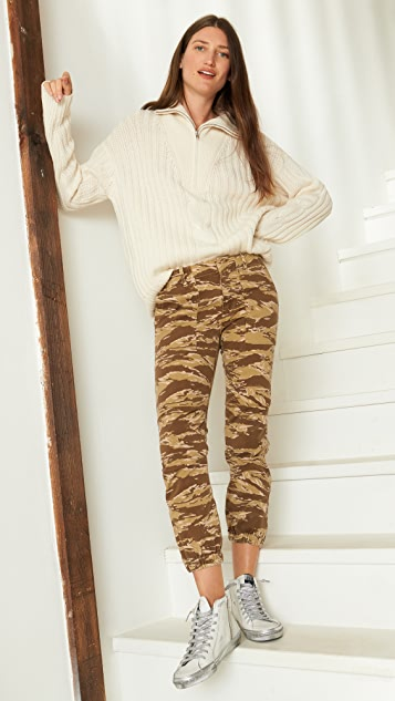 Nili Lotan 中长法式军旅风格长裤